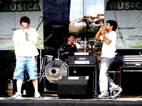 Participação especial do Gaeta (banda O.N.E.) - Show no CLT Cidade Música